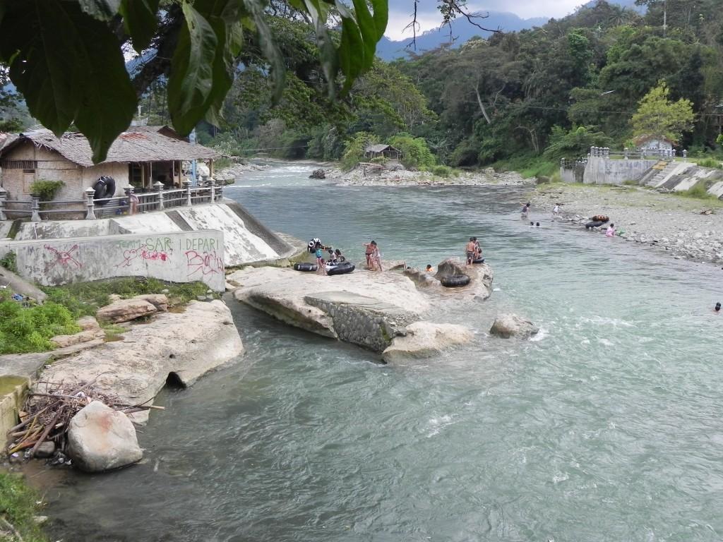 Zdjęcia: rzeka, sumatra, bukit lawang, INDONEZJA
