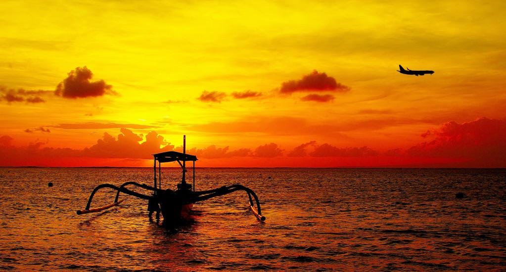 Zdjęcia: Sanur, Bali, Wschód słońca(Sanur)., INDONEZJA