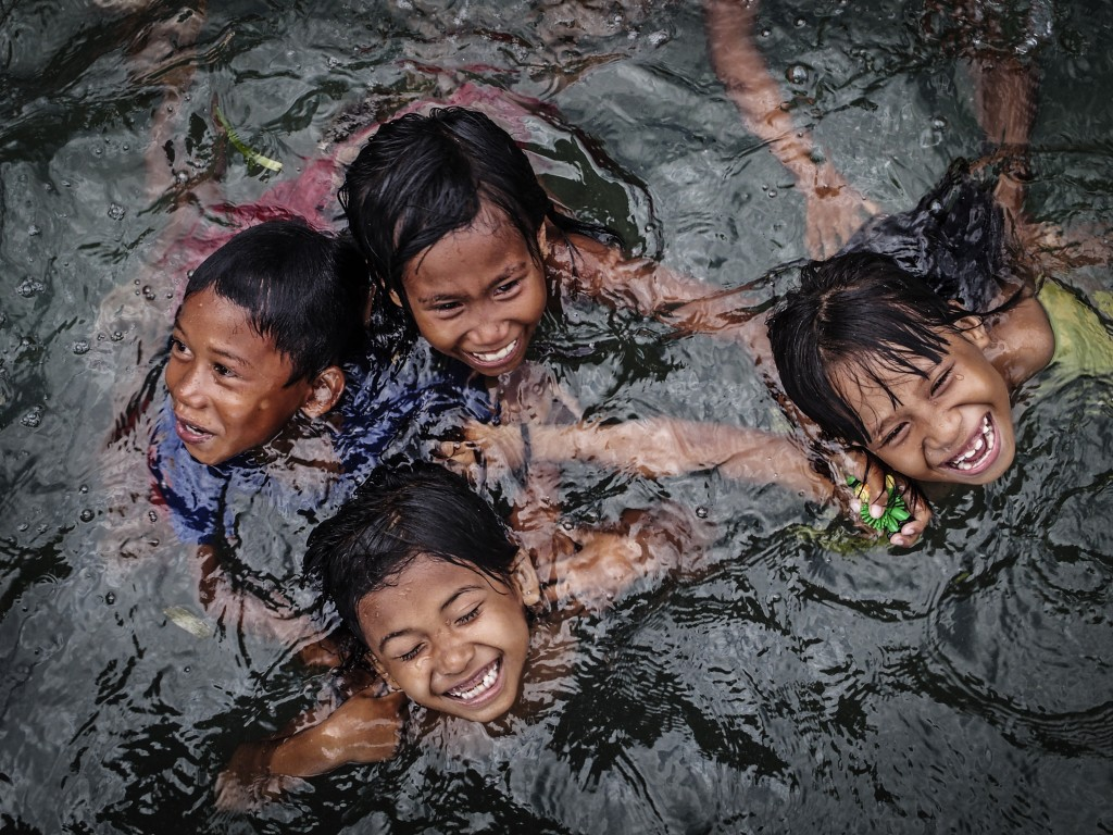 Zdjęcia: Bajo Desa  Mantigoa , Wakatobi, radość, INDONEZJA