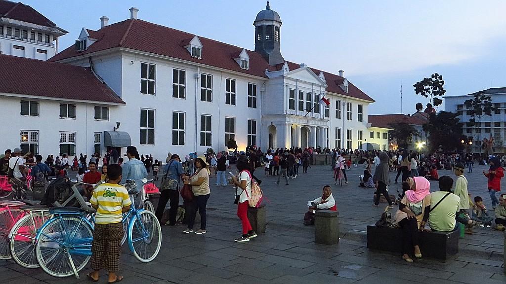 Zdjęcia: Dżakarta, Jawa, Taman Fatahilah, INDONEZJA