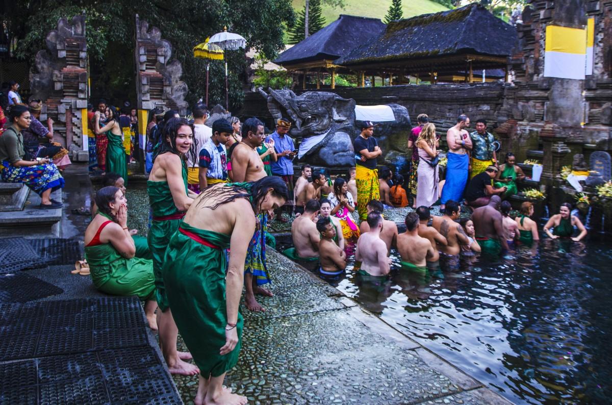 Zdjęcia: Pura Tirta Empul, Bali, Świątynia Pura Tirta Empul, INDONEZJA