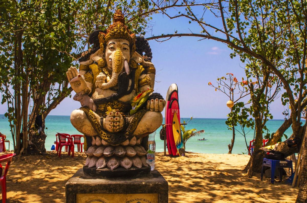 Zdjęcia: Kuta, Bali, Plażowy Ganeśa, INDONEZJA