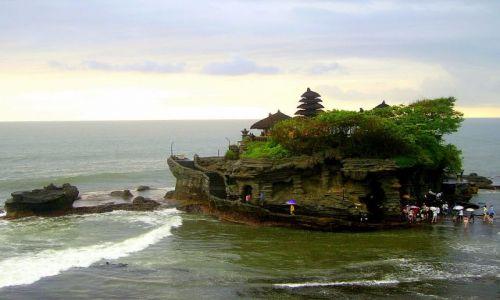 Zdjecie INDONEZJA / Bali / Bali - Tanah Lot / świątynia na wyspie - Tanah Lot
