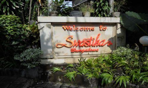 Zdjecie INDONEZJA / - / Bali  Hotel pod znakiem swastyki / Indonezja
