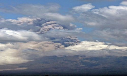 Zdjecie INDONEZJA / Jawa / Jakarta / aktywny wulkan Merapi