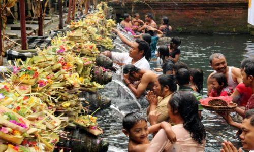 Zdjecie INDONEZJA / Bali / Spring Water Temple / Swiatynie Bali