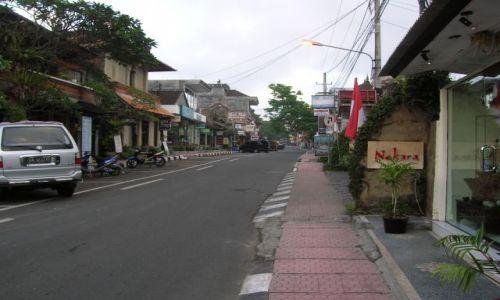 INDONEZJA / Bali / Ubud / Ulica u Ubud