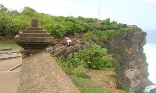 Zdjecie INDONEZJA / Bali / okolice Ubud / Klify i swiatynia
