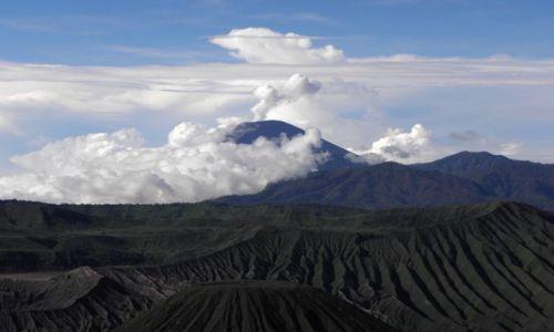 Zdjecie INDONEZJA / Jawa / Park Narodowy Bromo-Tenger-Semeru / Wulkan Semeru (3676 m)