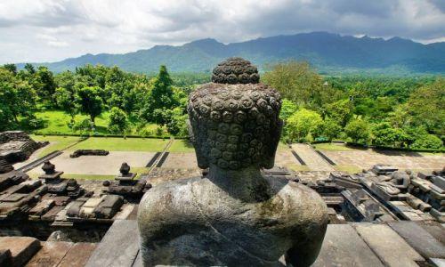Zdjecie INDONEZJA / Jawa / Borobudur Temple / pięknie i majestatycznie