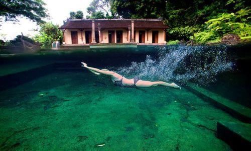 Zdjecie INDONEZJA / Bali / Tirta Gangga / pomiedzy 2 swiatami
