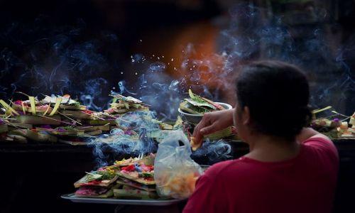 Zdjecie INDONEZJA / Bali / Ubud / zaklecia