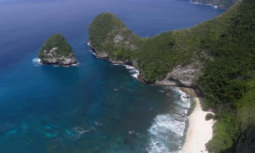 Zdjecie INDONEZJA / Nusa Penida / południowe wybrzeże / Ukryta plaża