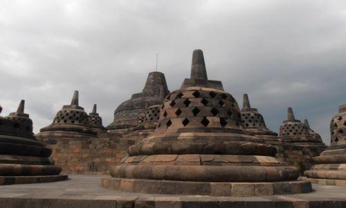 Zdjęcie INDONEZJA / java / świątynia  borobuduur / swiątynia