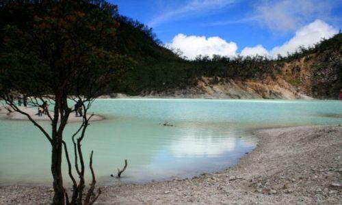 Zdjecie INDONEZJA / Jawa / Bandung / kawah putih, white lake