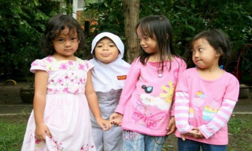 Zdjecie INDONEZJA / Jawa Timur / Surabaya / moje dziewczyny