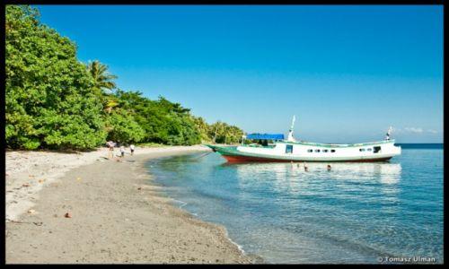 INDONEZJA / Sulawesi / Togeans / nasza łódź na Una-Una
