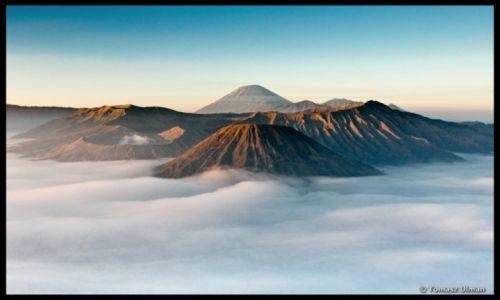 Zdjecie INDONEZJA / Jawa / Bromo / wschód słońca i Bromo