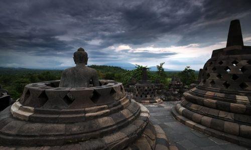 Zdjecie INDONEZJA / Jawa / Yogyakarta / Borobudur