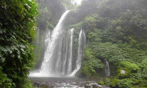 Zdjecie INDONEZJA / Lombok / Senaru / Wodospad Tiu Kelep