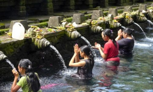 Zdjecie INDONEZJA / Bali / Ubud / Pura Tirta Empul