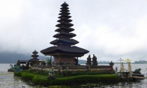 Zdjecie INDONEZJA / Bali / Jezioro Bratan / Pura Ulun Danau Bratan