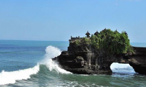 INDONEZJA / Bali / Tanah Lot / Tchnienie