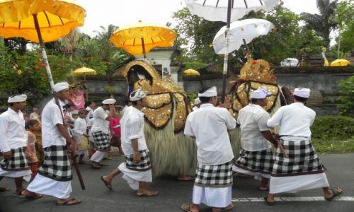 Zdjęcie INDONEZJA / bali / ... / procesja