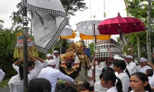 Zdjęcie INDONEZJA / bali / .. / procesja