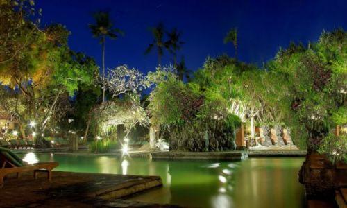 INDONEZJA / Bali / Bali Hyatt Hotel-Sanur / Hotelowy basen