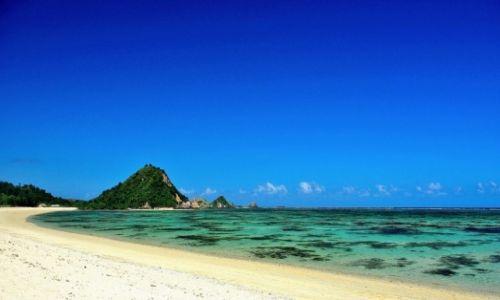 INDONEZJA / Lombok / Lombok / Plaże południowego Lomboku