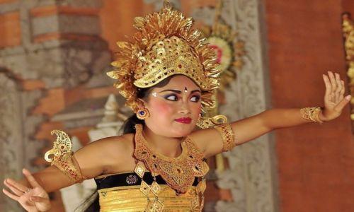 INDONEZJA / Bali / Ubud / Balijskie Tańce
