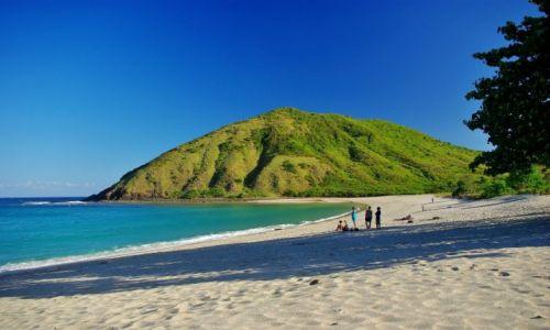 Zdjęcie INDONEZJA / Lombok / Południe wyspy / Plaża Mawun