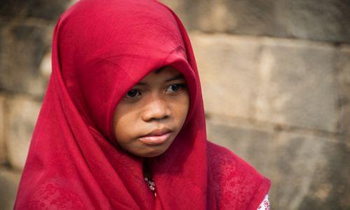 Zdjęcie INDONEZJA / Jawa / świątynia Borobudur / konkurs
