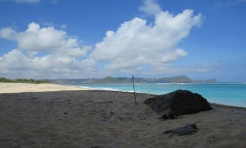 Zdjecie INDONEZJA / Lombok / okolice Selong Belank / Lombok -dzikie plaże