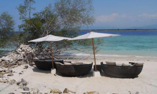 Zdjęcie INDONEZJA / Nusa Tenggara Barat / Gili Meno / Niebiańska plaża