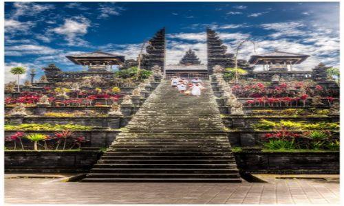 Zdjecie INDONEZJA / Bali / Pura Besakih / Candi Bentar