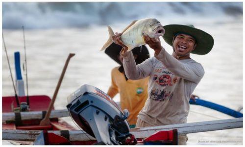 Zdjecie INDONEZJA / Bali / Pantai Soka / A good Catch!