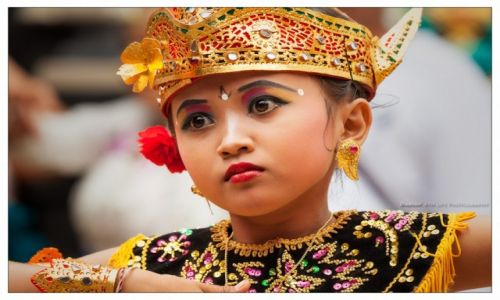 Zdjecie INDONEZJA / Bali / Buleleng / Lia dancing Margapati