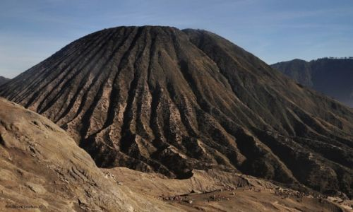 Zdjecie INDONEZJA / Java / Bromo / Mt Batok 2470m