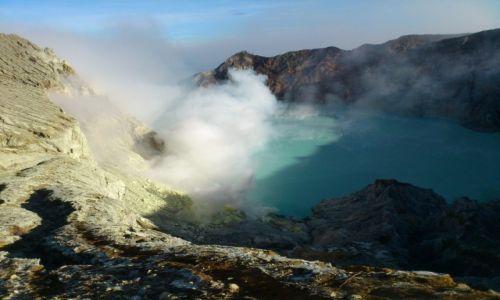Zdjęcie INDONEZJA / Jawa / Wulkan Ijen / Kopalnia siarki
