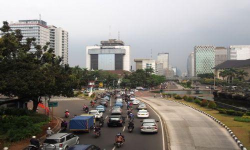 INDONEZJA / Jawa / Jakarta / Ulice Jakarty