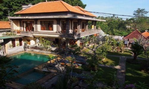 INDONEZJA / Bali / Ubud / Balijski hostelik