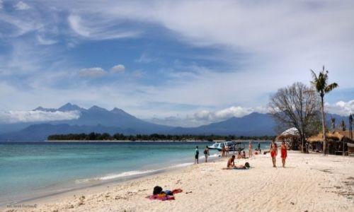 Zdjęcie INDONEZJA / Gili Trawangan / plaża / plaża