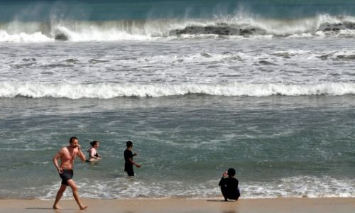 Zdjecie INDONEZJA / Bali / Kuta  / Pla�a w Kuta