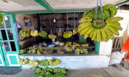 Zdjecie INDONEZJA / Jawa / Banyuwangi / sklepik z bananami