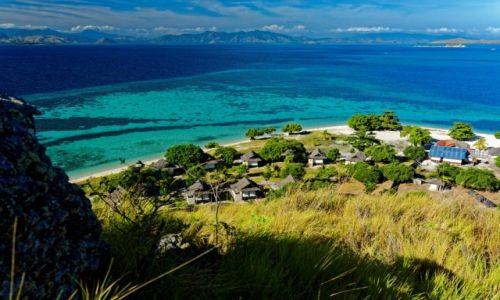 Zdjecie INDONEZJA / Flores / Kanawa / Wyspa i rafa koralowa