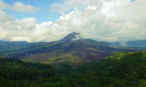 Zdjecie INDONEZJA / Bali / Bali / wulkany i d�ung