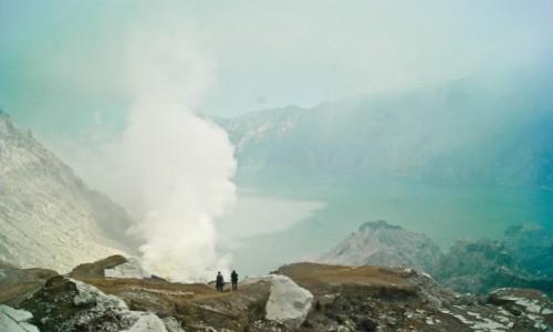 Zdjecie INDONEZJA / -Banyuwangi / Ijen / Wulkan Ijan