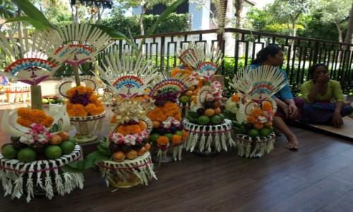 Zdjecie INDONEZJA / Bali / Sanur / Dary Świątynne